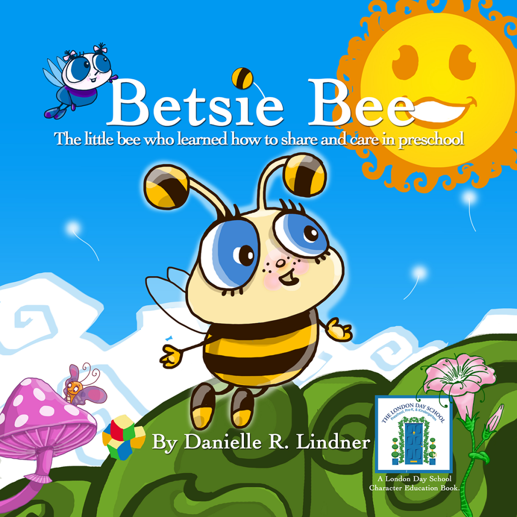 A child's first experience in school is often the first time they are expected to share with others. Betsie Bee is the little bee who learns that sharing and caring for others brings wonderful rewards.
